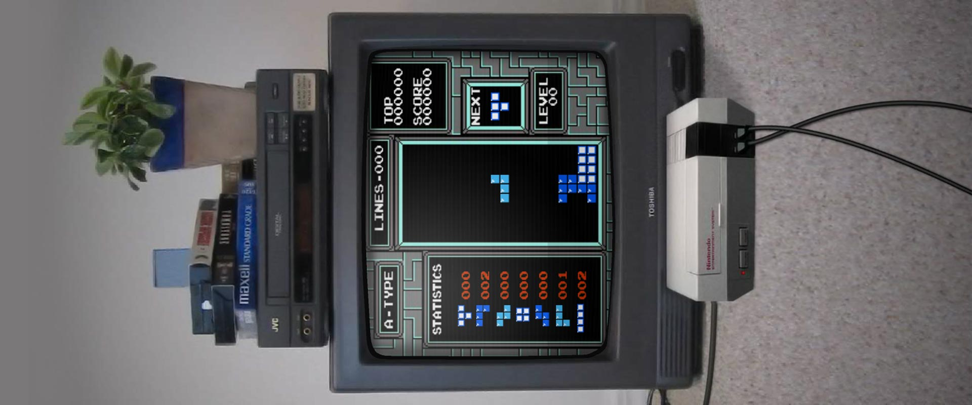 Tetris, Tetris, Tetris.