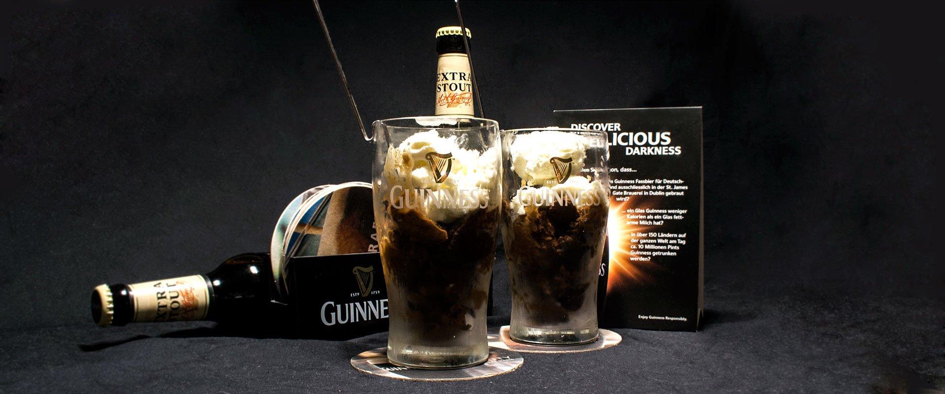 Frozen Guinness.